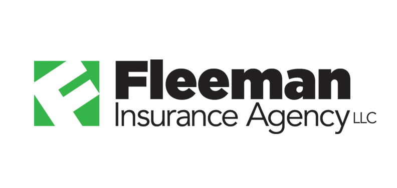 Marketing graphic design logo for Fleeman Insurance