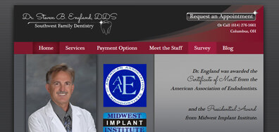 Steven Englan DDS Logo design sample
